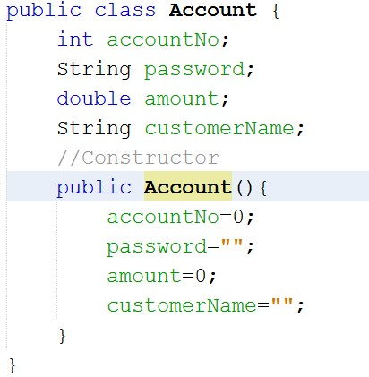 Create Account Class-4