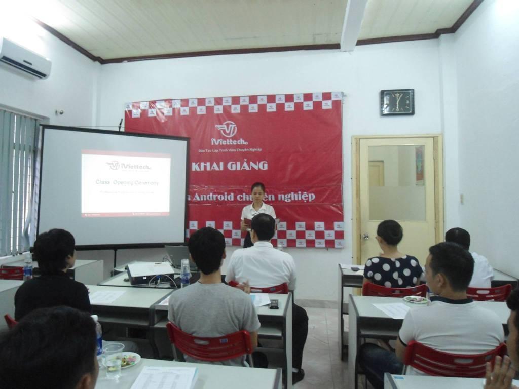 Khai giảng chính thức Khóa học Lập trình Android