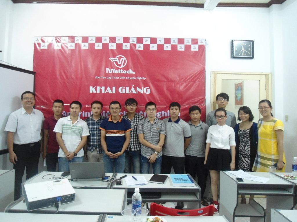 Khai giảng chính thức khóa học – Lập trình viên chuyên nghiệp