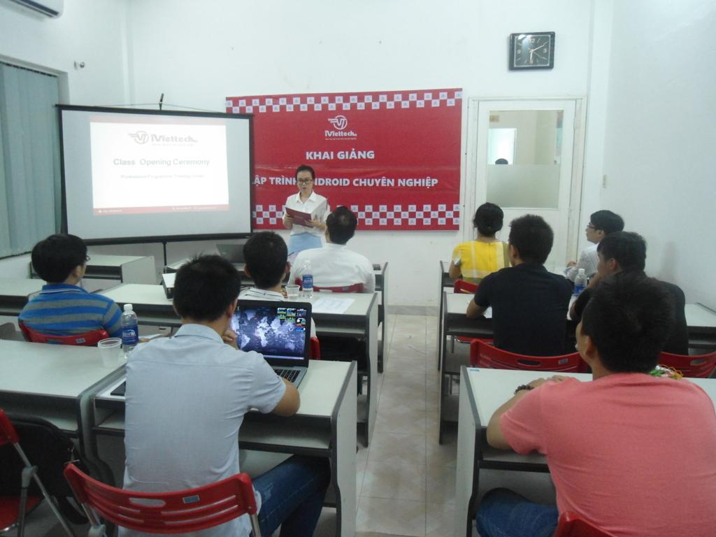 Khai giảng khóa học Lập trình Android