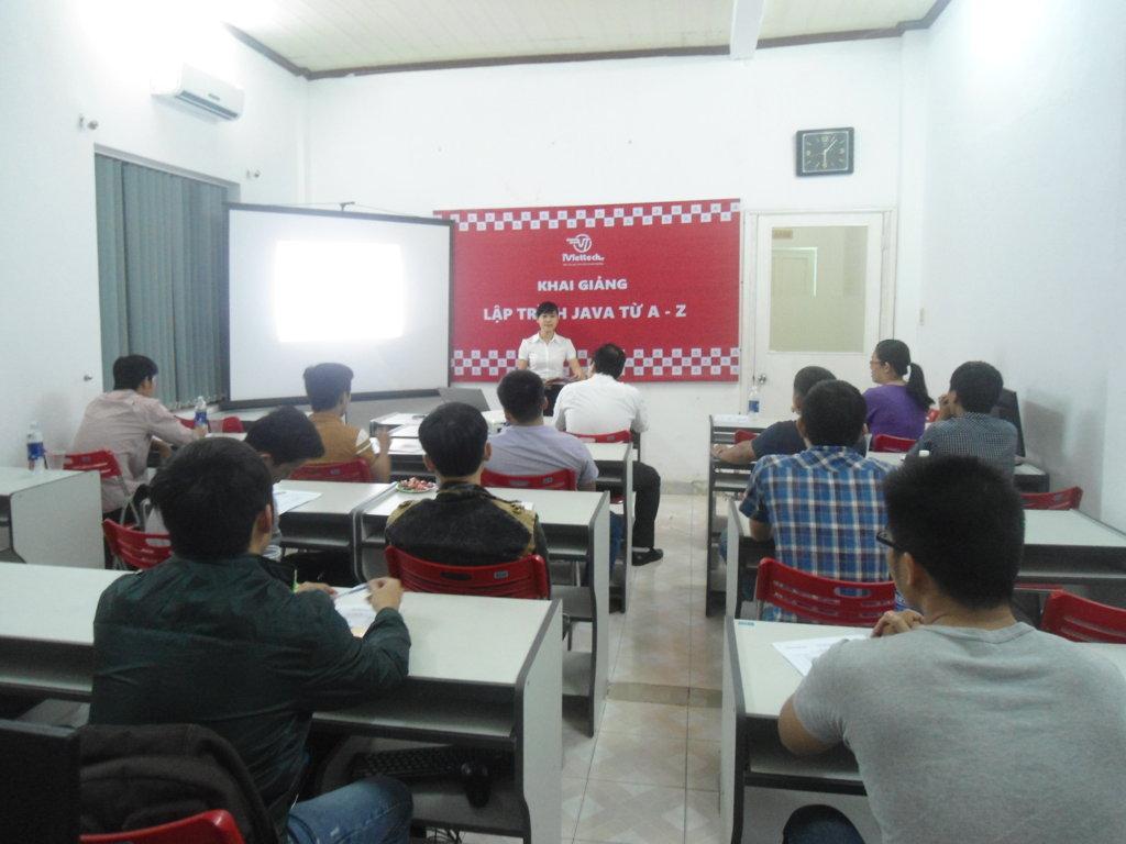 Khai giảng khóa học Lập trình viên Java từ A-Z: JV08