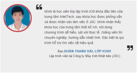 Thanh Hai - iOS