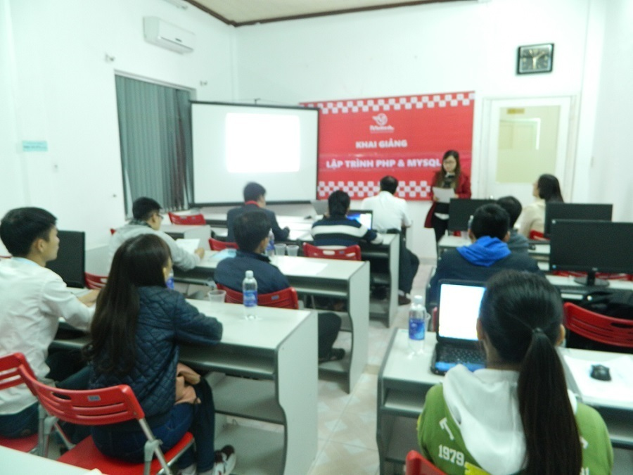 Khai giảng khóa Lập trình web với PHP& MySQL