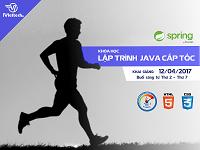 Khóa học Lập trình Java – cấp tốc:  Khai giảng 12/04.