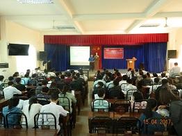 iViettech – Hội thảo về cơ hội việc làm tại Đại học Phạm Văn Đồng, Quảng Ngãi