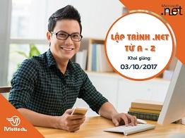 Khóa học Lập trình .NET từ A-Z: Khai giảng 03/10