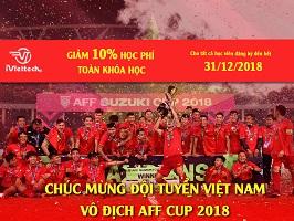 CHÚC MỪNG ĐỘI TUYỂN VIỆT NAM VÔ ĐỊCH AFF CUP 2018